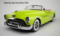 Old car Buick Skylark 1953