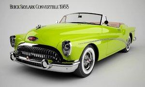3D model old car