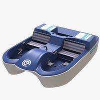 3D pedal boat 2 places