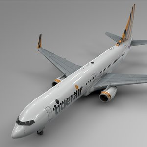 tigerair boeing 737-800 l441 3D model