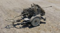German 38 cm Anti Aircraft Gun