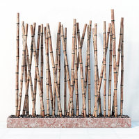 3D model decor bamboo
