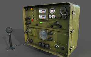 ready style radio 3D model