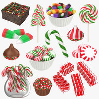 3D christmas candy