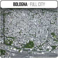bologna surrounding - 3D model