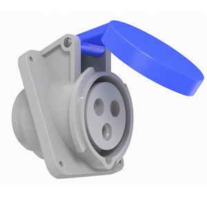 electrical socket industrial 3D model