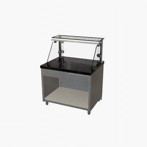 3D gastroline neutral table