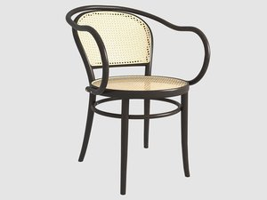 3D model thonet chair 30 ton