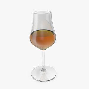 3D whisky tasting glass