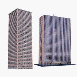 3D buildings 2