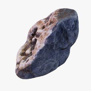 stone quartz rock 3D