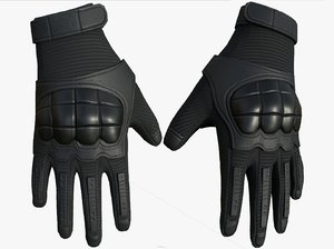 3D gloves camouflage safety