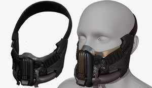 3D model fashion mask