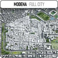 modena surrounding - 3D