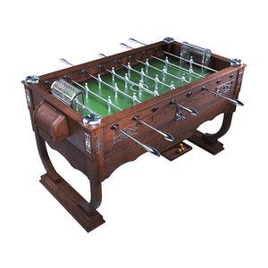 soccer table automatilux 3D model