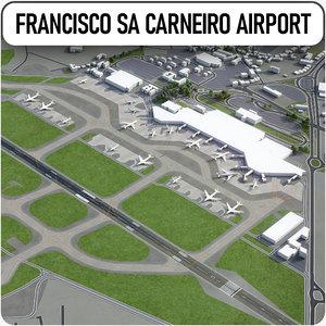 3D porto airport