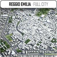 reggio emilia surrounding - 3D
