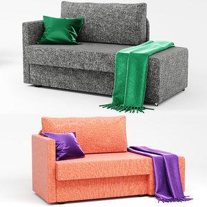 3D sofa ikea grelsta