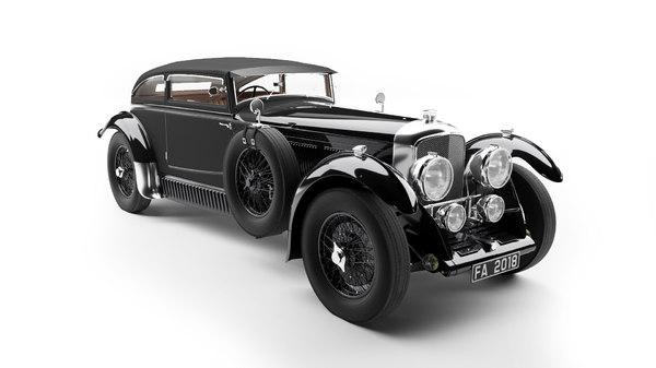 1930s bentley model