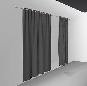 3D curtains03 smallest marvelous designer