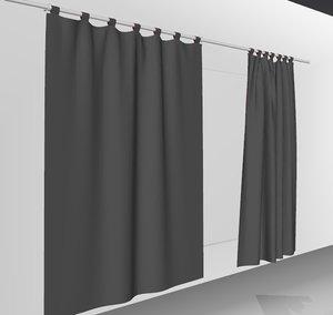 3D curtains02 smallest marvelous designer