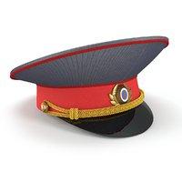 Russian road policeman cap