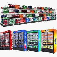 drinks beverage fridge model
