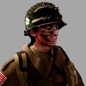 world war 2 paratrooper model