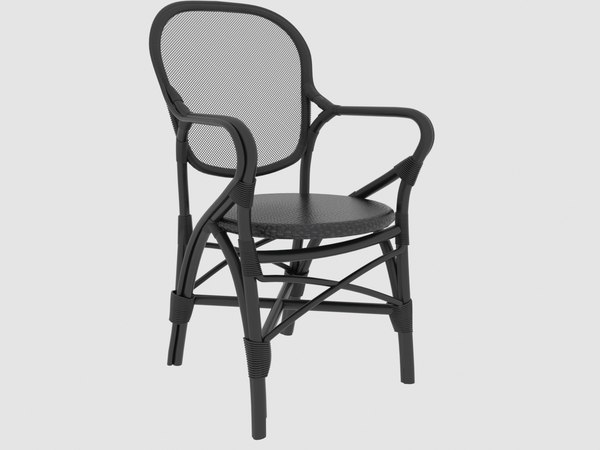rossini armchair sika design 3D model