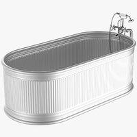 3D aluminium bath