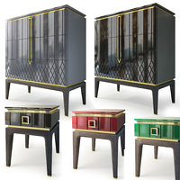 Dresser and bedside table by Ambicioni Bairo