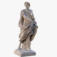 3D caesar statue