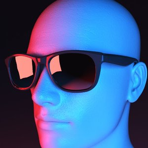 3D sunglasses eyeglasses eyewear