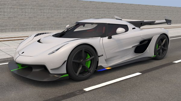 3D koenigsegg jesko 2020 model