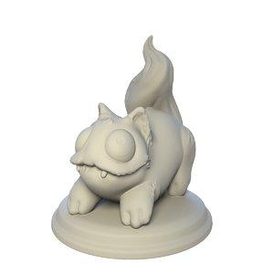 table printing 3D model
