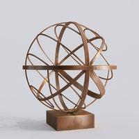Modern Decorative Abstract Bronze Art Sculpture 06