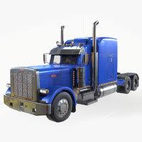 Peterbilt Truck 3D Model