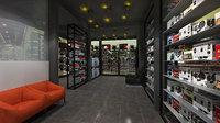 3D wheelalingment interior