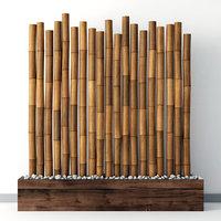 3D decor bamboo