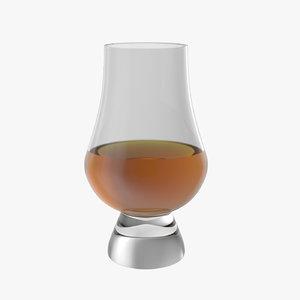 glencairn glen cairn whisky glass 3D model