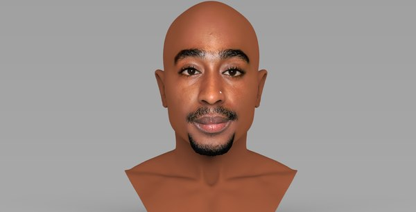tupac shakur bust ready model