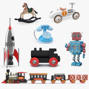 3D retro toys 2