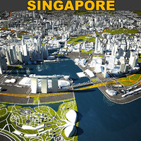 Singapore Skyline Complete