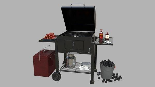 3D camping trip