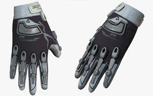 3D gloves military