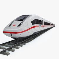 3D ice 4 speed train rails