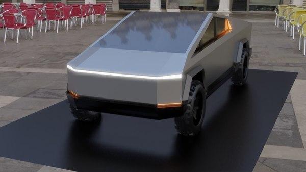 tesla cybertruck model