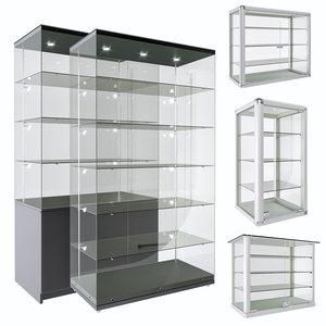 3D model set racks