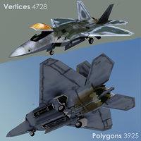 f22 raptor 3D