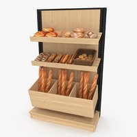 3D bakery display